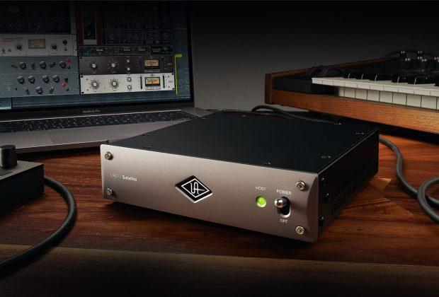 Universal Audio UAD-2 Satellite Thunderbolt 3 acceleratore DSP hardware promo pro audio studio audiofader
