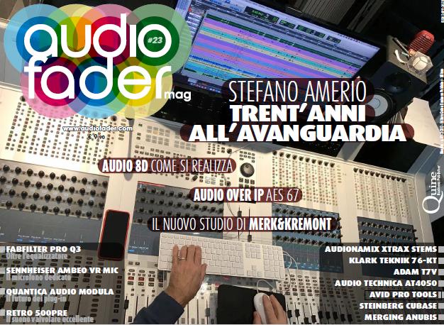 Audiofader #23 - Stefano Amerio, AES 67, Audio8D