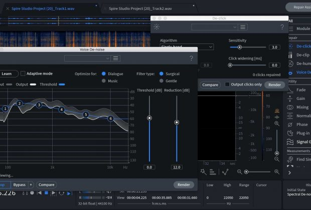 iZotope RX Elements suite sound design audio restore midiware audiofader