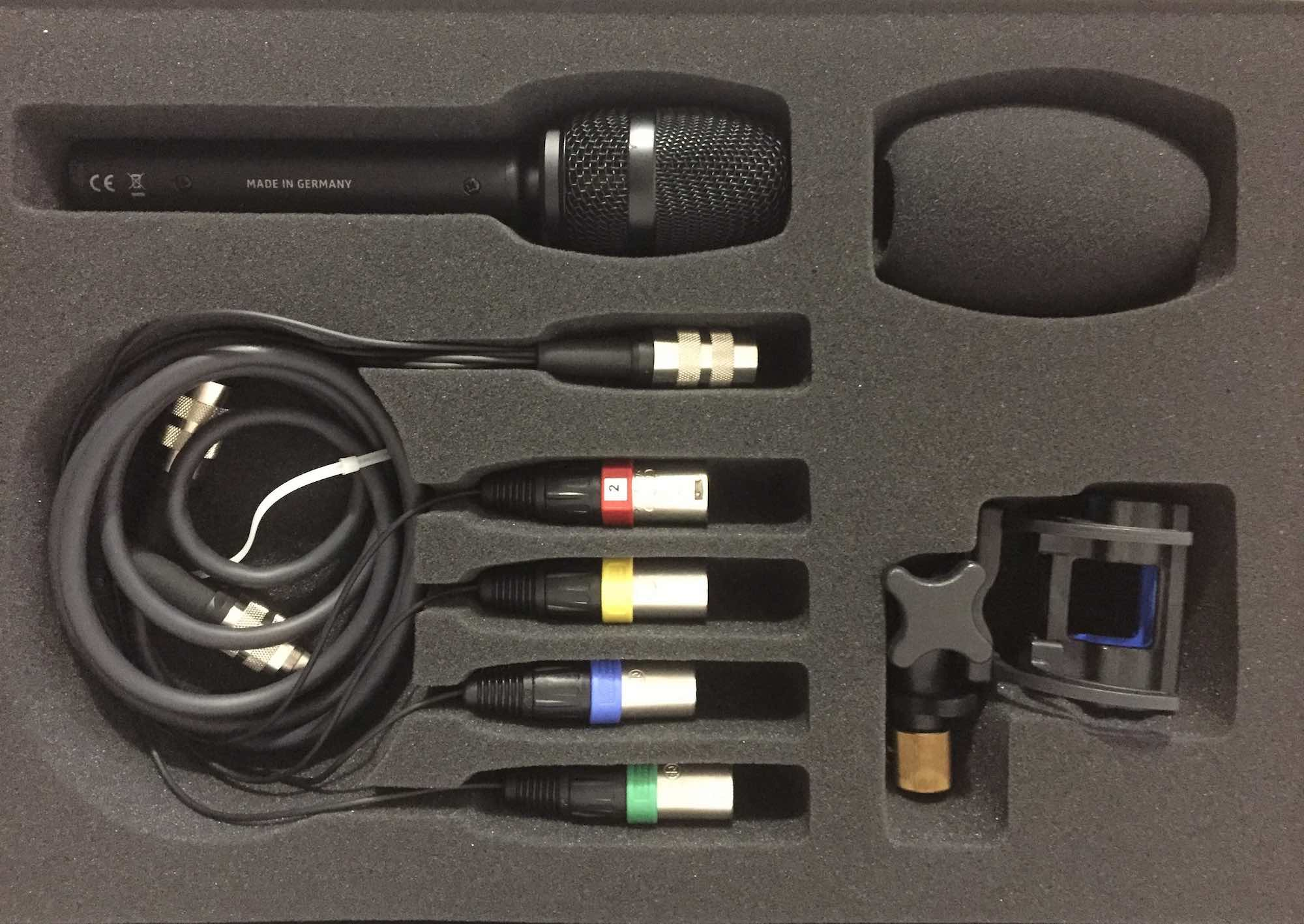 Sennheiser AMBEO VR Mic exhibo surround multicanale test audiofader box xlr cavi prezzo