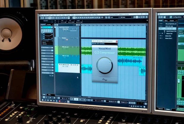 Audified VocalMint compressor plug-in audio pro software virtual daw mixing vocals voci audiofader