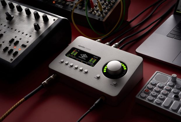 Universal Audio Apollo Solo interfaccia audio usb thunderbolt midiware rec mix studio hardware audiofader