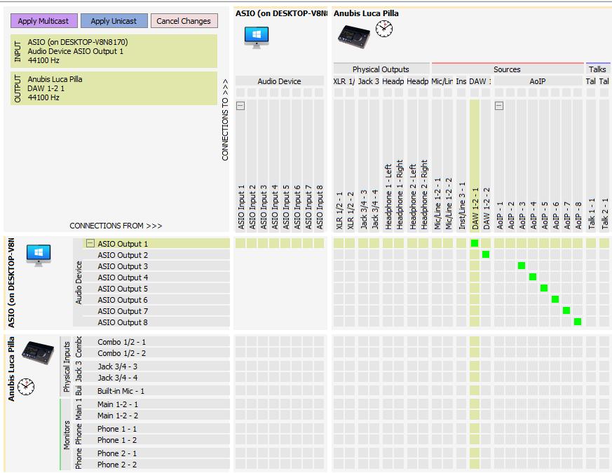 tutorial merging technologies anubis interfaccia audio monitoring luca pilla mix studio rec audiofader