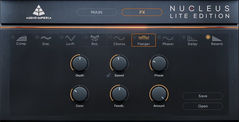 Audio Imperia Nucleus Lite libreria virtual instrument orchestra score audiofader test kontakt native instruments fx
