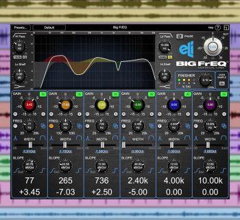 Empirical Labs Big FrEQ plug-in audio mixing mix virtual daw software audiofader