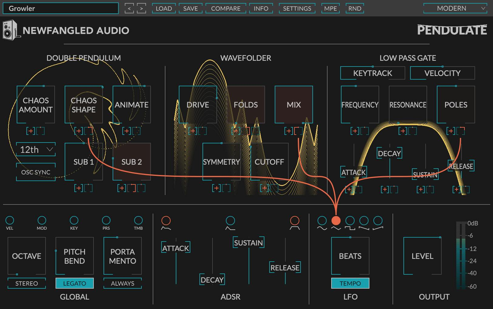 Eventide Newfangled Audio Pendulate plug-in software synth tool virtual daw windows mac gratis free freeware audiofader