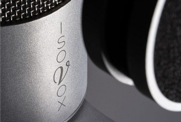Isovox Isomic acustica audio recording rec studio audio pro audiofader