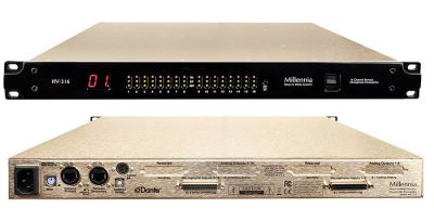Millennia media HV-316 preamp digital hardware outboard rack audio network rec pro audiofader