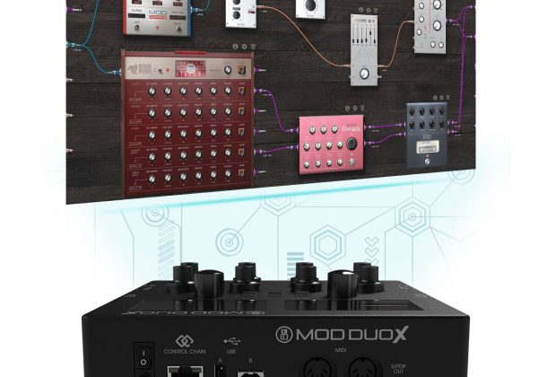 mod devices Mod Duo X controller produzione production music dj djing studio live audiofader