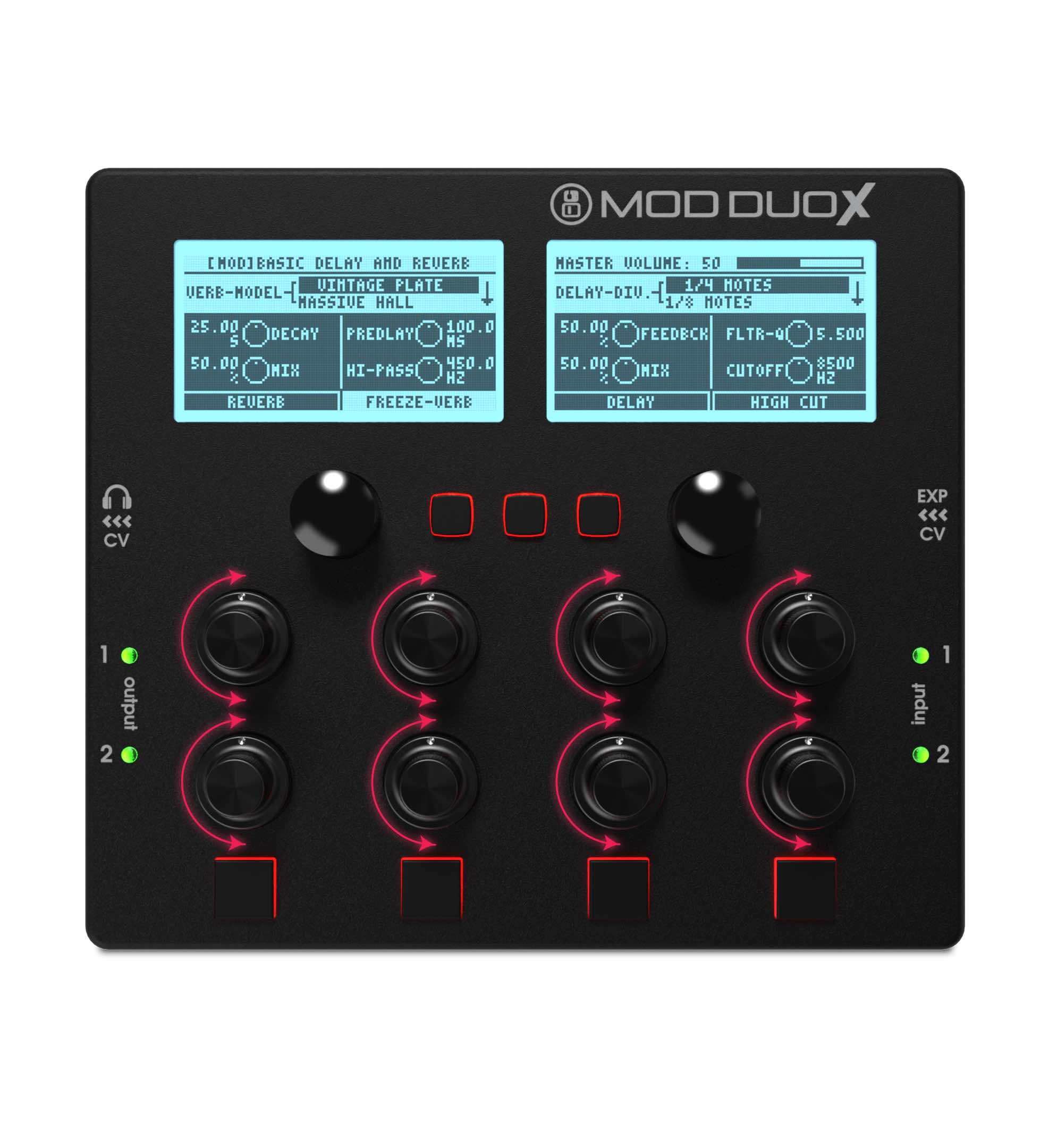 mod devices Mod Duo X controller produzione production music dj djing studio live audiofader
