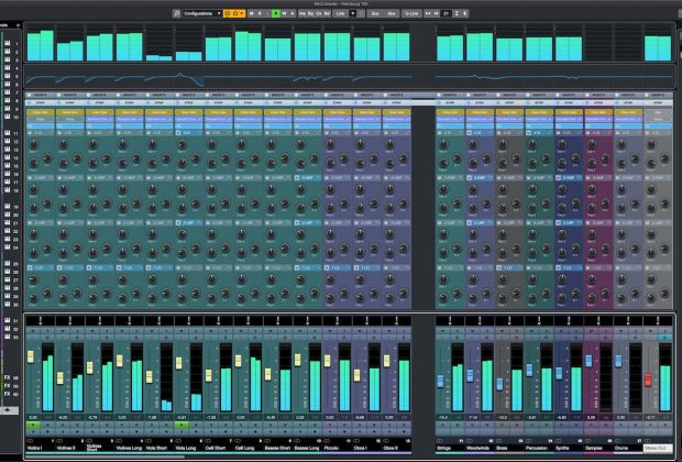 Steinberg Cubase 10.5 MixConsole daw software tutorial pierluigi bontempi music producer audiofader