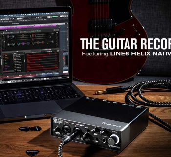 Steinberg Guitar Recording Kit interfaccia audio rec home studio cubase ur22c line6 helix audiofader