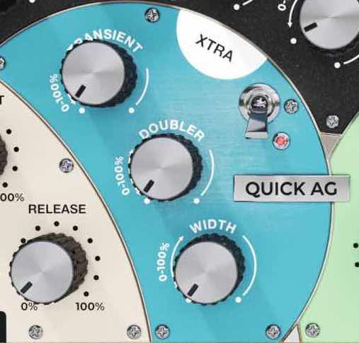 United Plugins xtra Quick AG processing mix chitarra acustica ukulele guitar acoustic mix software daw plug-in audio pro instant audiofader