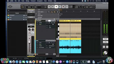 universal audio luna tutorial mixdown export midiware video andrea scansani audiofader