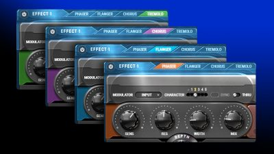 Waves Kaleidoscopes plug-in software modulation fx daw audio mix producer music audiofader