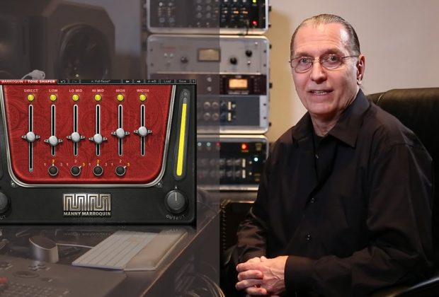 Waves Manny Marroquin Tone Shaper gratis free software plug-in mix mixing eq linear phase audiofader