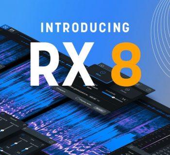 iZotope RX8 audio restore pro studio mixing repair midiware prezzo audiofader
