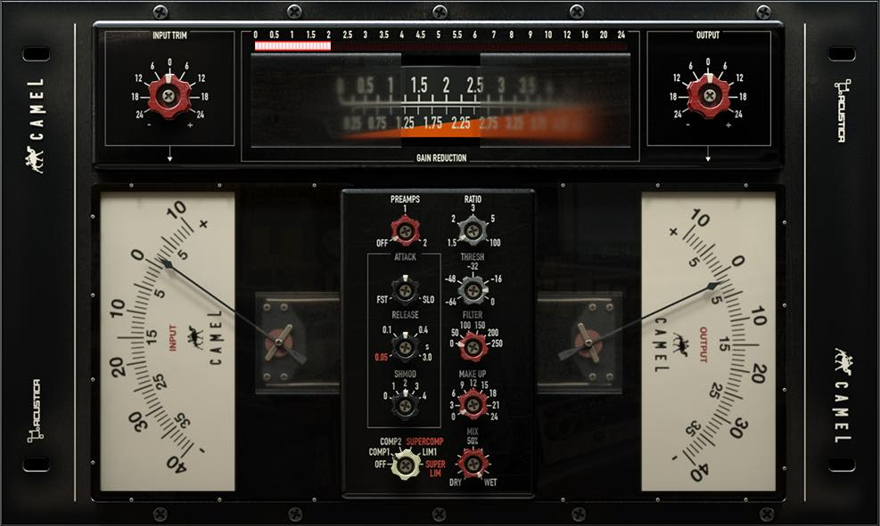 Calrec comp Triden b series acustica audio camel bundle audiofader