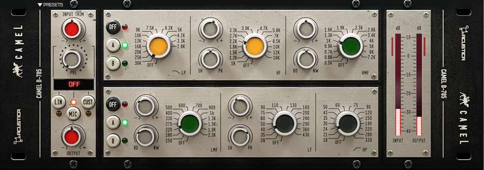 Calrec eq acustica audio camel opinion audiofader