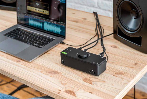 Audient EVO8 interfaccia audio leading technologies audiofader home studio recording mix producer