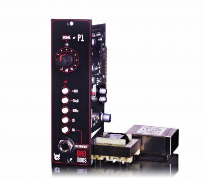 bad dogs p1 bundle preamp serie500 api hardware outboard recording rec studio pro audiofader luca pilla test