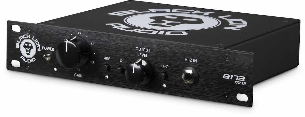 Black Lion Audio - B173 MKII preamp pre rec recording studio pro audio hardware rack audiofader