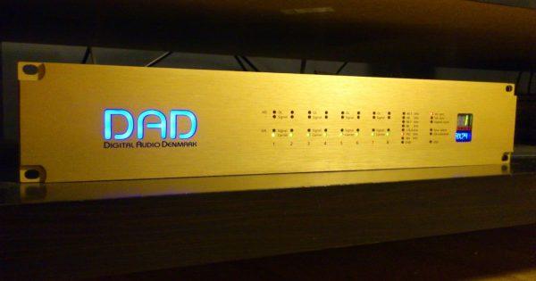 DAD AX24 convertitore hardware digital studio pro audio audiofader test luca pilla