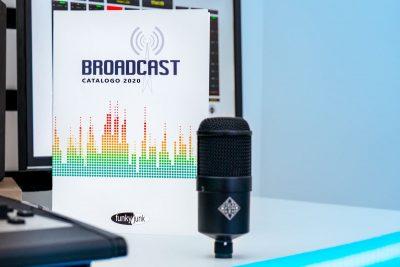 Funky Junk broadcast hardware audio pro live studio audiofader