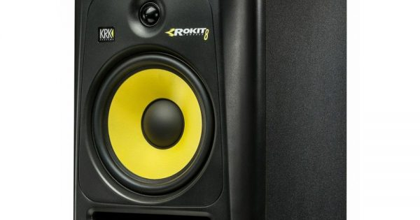 KRK RP 8 G3 test monitor audio home project studio riccardo gerbi audiofader