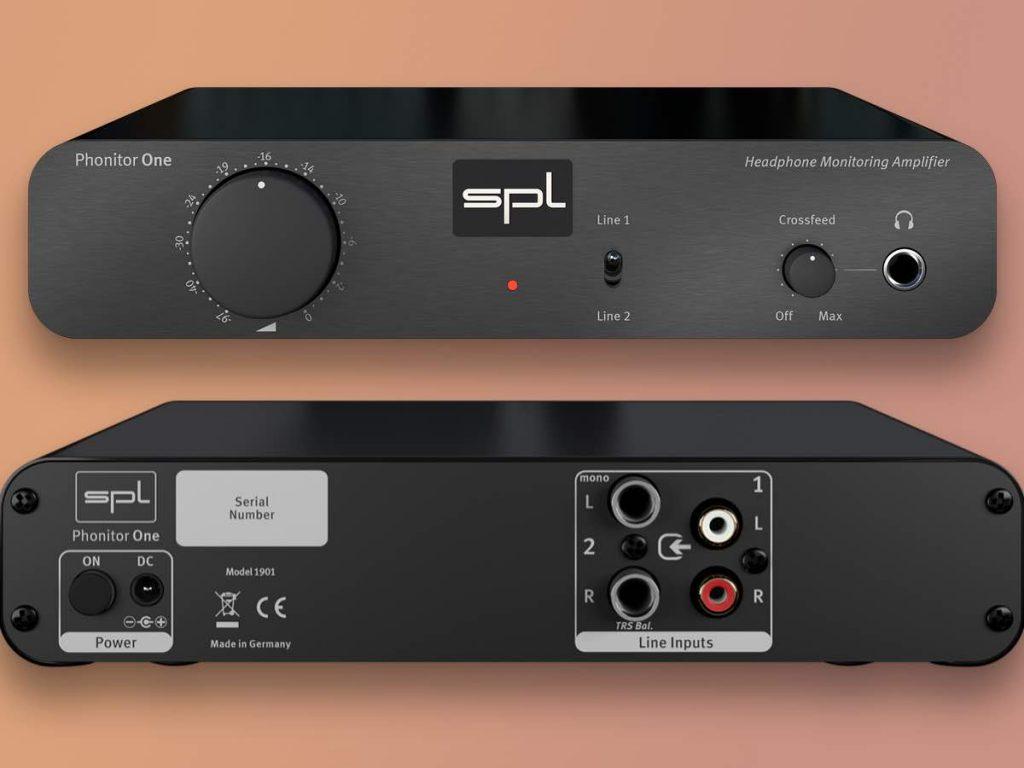 SPL Phonitor One ampli cuffie headphones studio audio pro midi music audiiofader