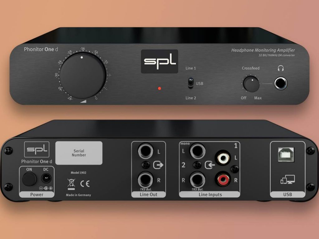 SPL Phonitor One d ampli cuffie headphones studio audio pro midi music audiiofader