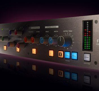 SSL Fusion hardware comp saturazione drive midiware studio pro audio audiofader