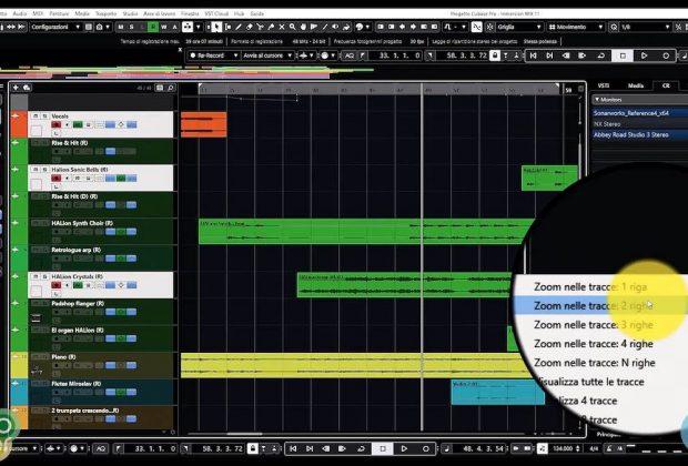 Steinberg Cubase videotutorial 4 tutorial software daw music production pierluigi bontempi audiofader