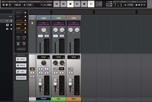 Tutorial LUNA universal audio video midiware andrea scansani audiofader daw software mix