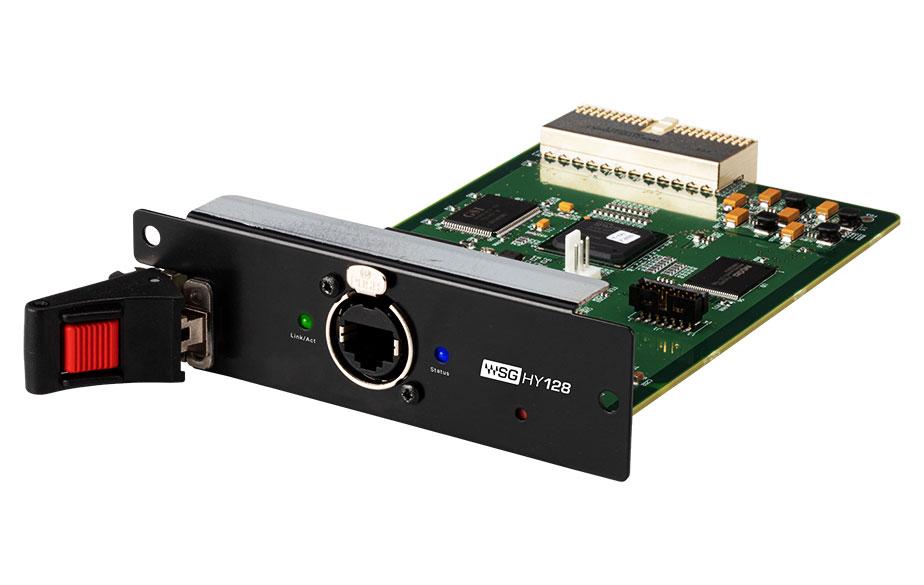 Waves WSG-HY128 I/O Card hardware digital yamaha rivage pm console mixer audiofader