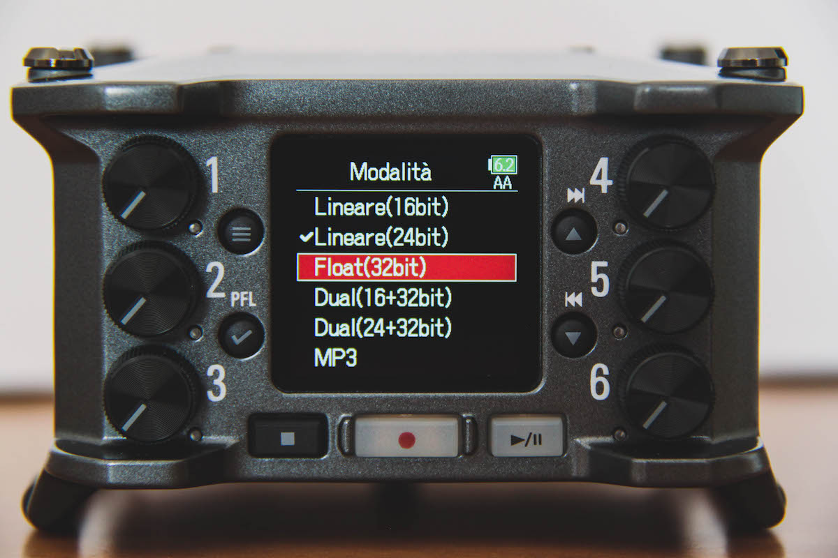 Zoom F6 field recording opinions