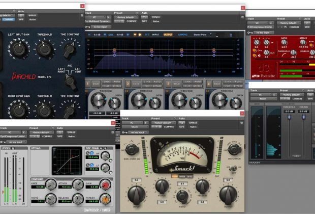pro tools ultimate dynamic plug-in audio pro studio rec mix mastering edit daw audiofader tutorial vincenzo bellanova