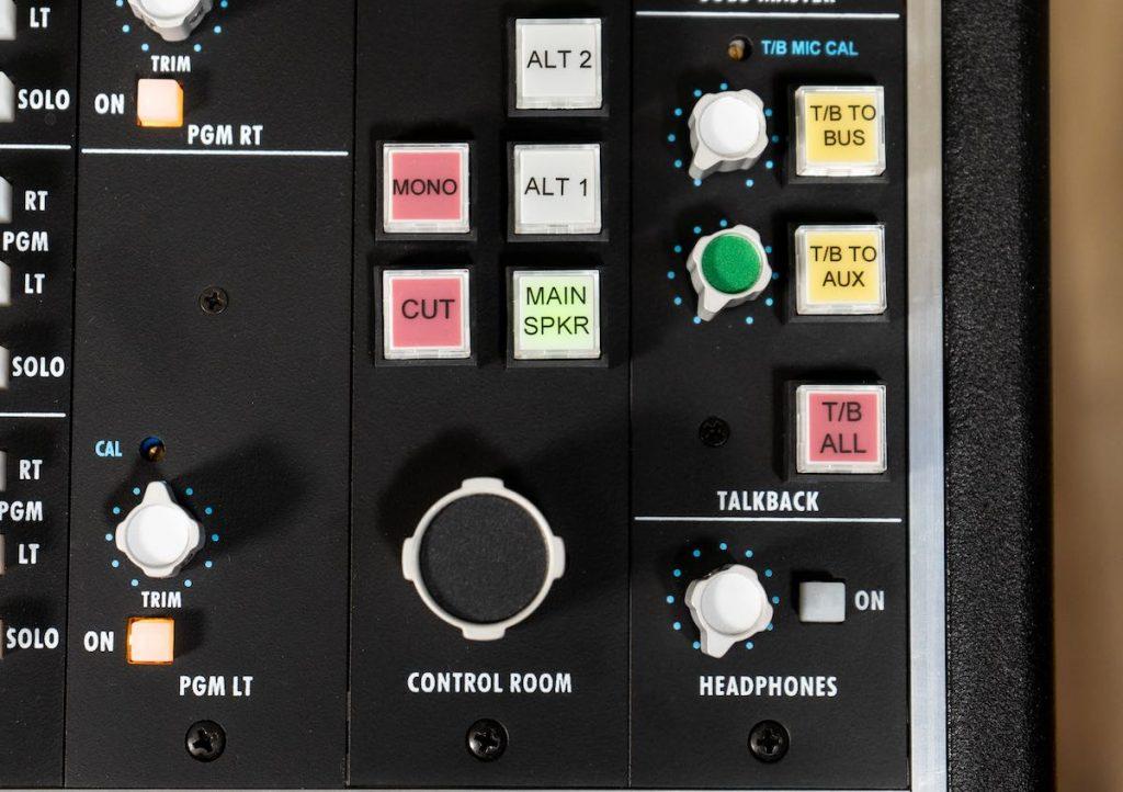 API 2448 funky junk audiofader monitor control room