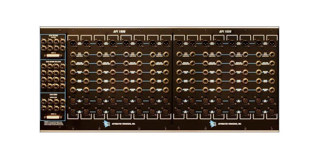 Api Audio 1608 hardware mixer console analog mix rec funky junk luca pilla test audio pro studio input output