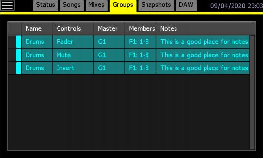 API 2448 groups luca pilla funky junk audiofader console