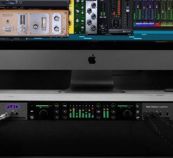 Avid Pro Tools Carbon hardware interfaccia audio ibrida studio audio pro audiofader