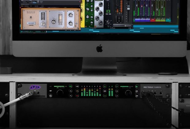 Avid Pro Tools Carbon hardware interfaccia audio ibrida studio audio pro audiofader