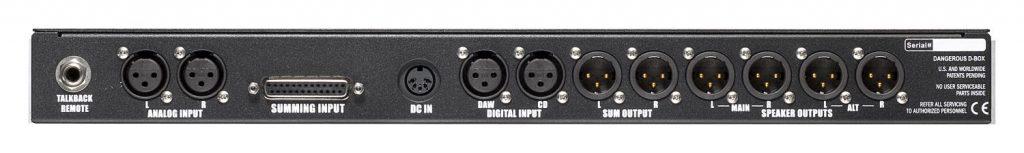 Dangerous Music D-Box hardware outboard sommatore convertitore studio audio pro audiofader luca pilla test
