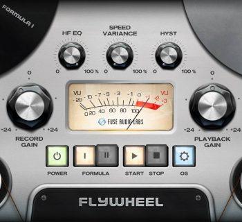 Fuse Audio Labs FLYWHEEL plug-in audio software daw mix mixing audiofader tape nastro
