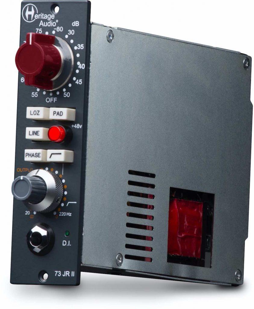Heritage Audio 73 JR II preamp serie 500 api rec recording studio pro midi music audiofader