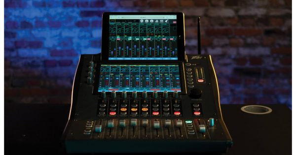 Peavey Aureus 28 digital mixer live studio audio pro rec live audiofader