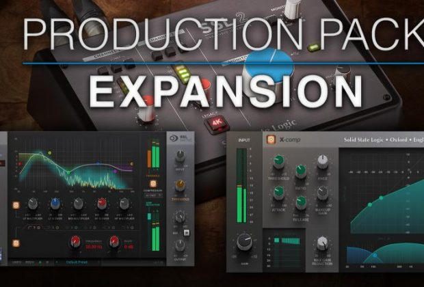 SSL Production Pack exspansion omaggio offerta plug-in audio software daw interfaccia audio midiware audiofader