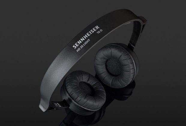 Sennheiser HD25 light headphones cuffie audio pro rec mix exhibo audiofader