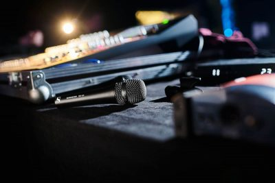 Sennheiser MD 435 mic wired rec vocal exhibo audiofader