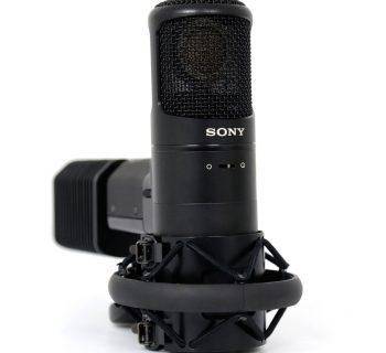Sony C800g hardware mic rec recording studio audio pro audiofader